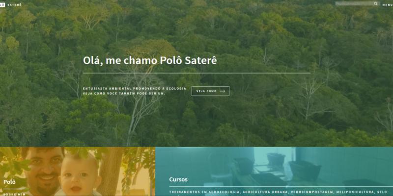Site Polô Saterê