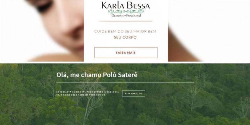 Um Site como Seu Único Endereço Web