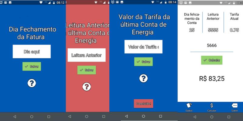 Elfi Conta de Energia App